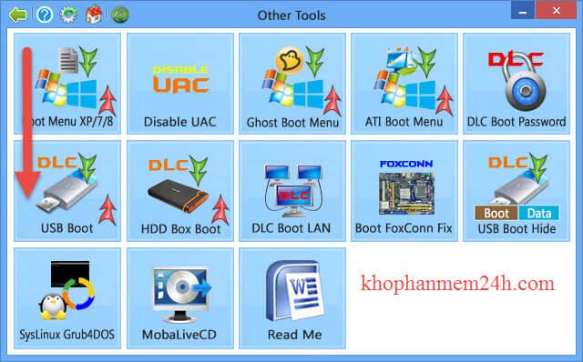 tải USB DLCboot2013