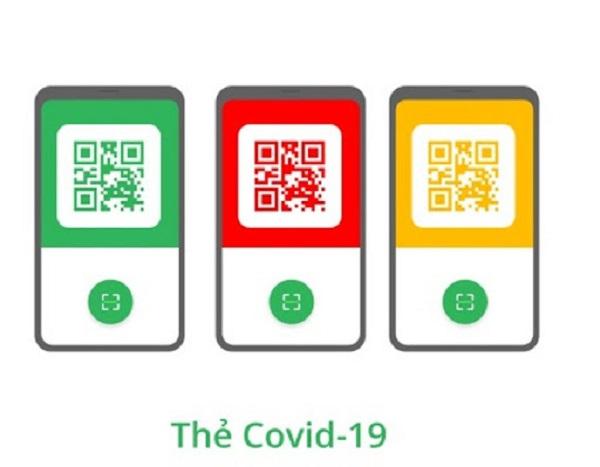 """Tính năng hiển thị thẻ """"Xanh"""" Covid cũng được tích hợp ngay trên ứng dụng này"""