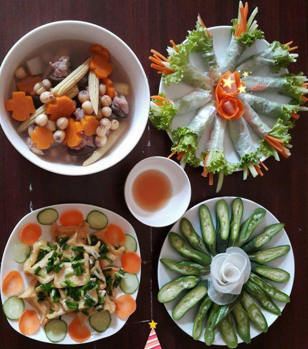 Trang trí món ăn đơn giản dành cho món ăn ngày thường