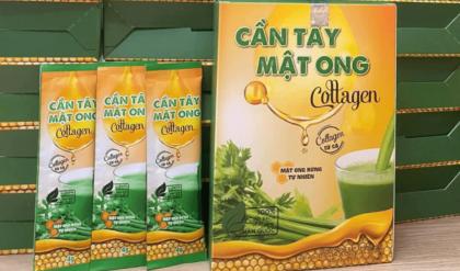cần tây mật ong collagen uống như thế nào
