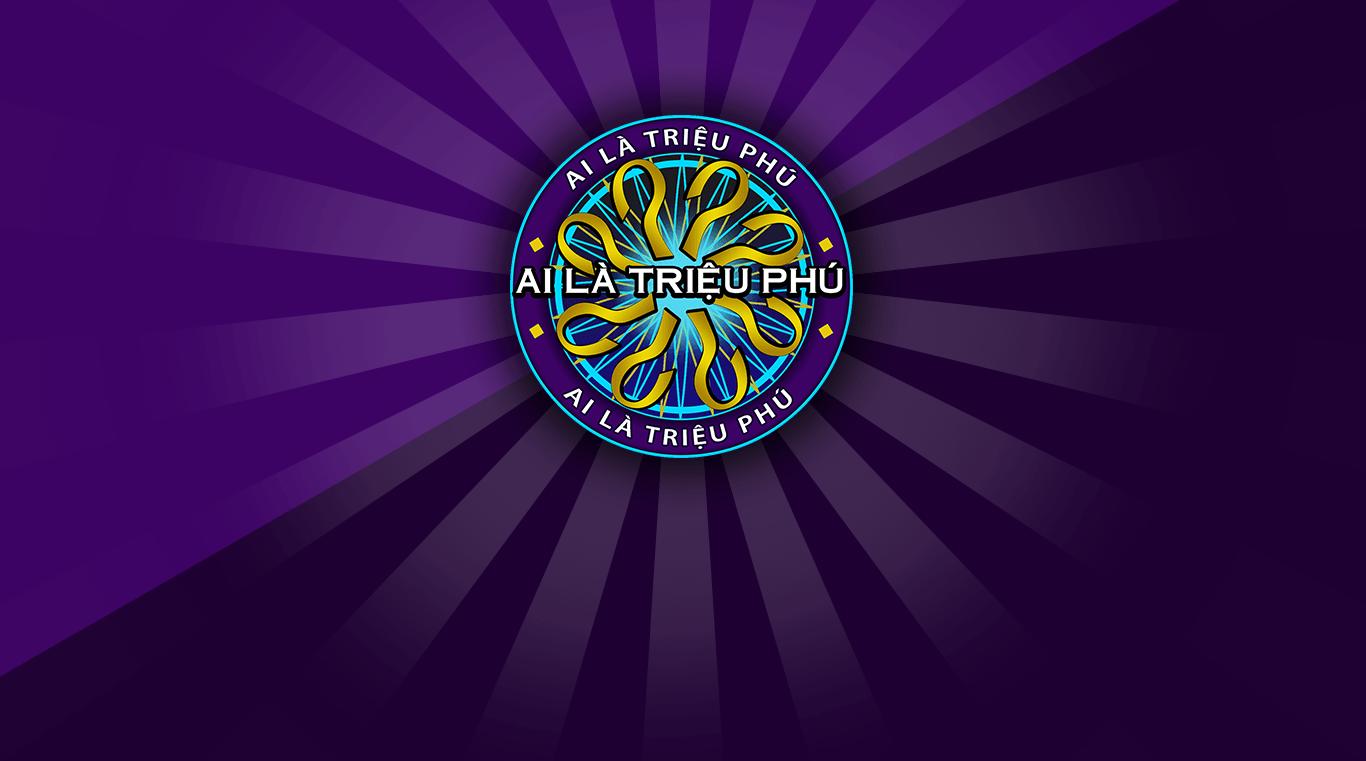 Logo màu tím của gameshow Ai là triệu phú phiên bản 2021