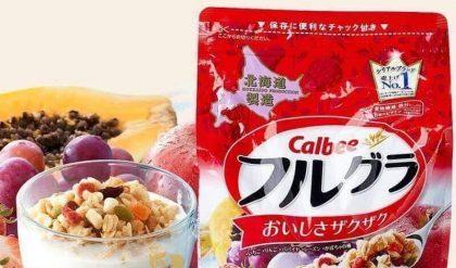 Ngũ cốc Calbee của Nhật đã có mặt tại Việt Nam
