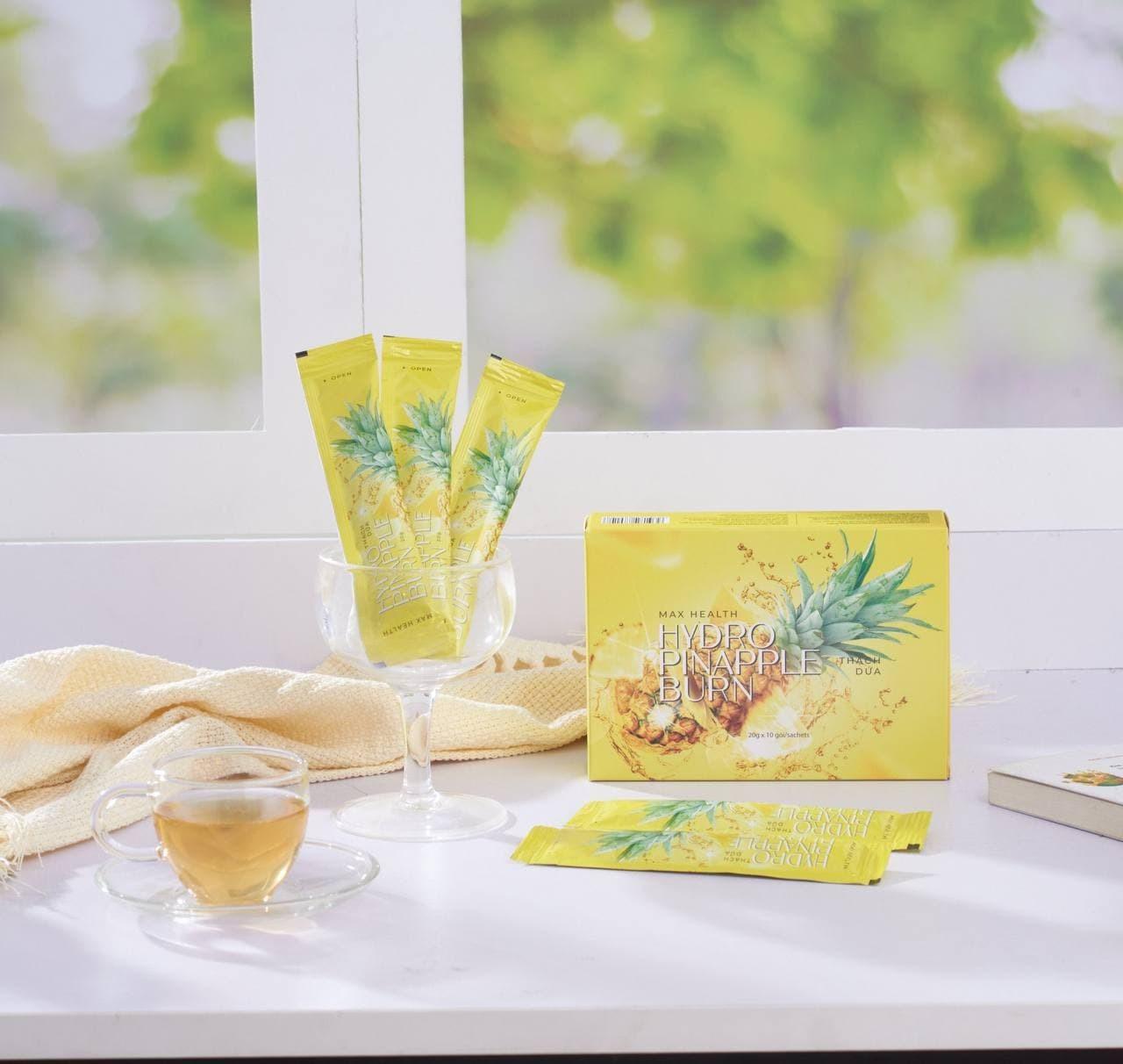 Thành phần chiết xuất từ trái dứa có mùi thơm tự nhiên