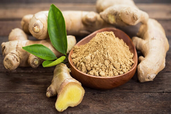 Gừng là một loại thảo dược có mặt trong sản phẩm kem giảm mỡ bụng