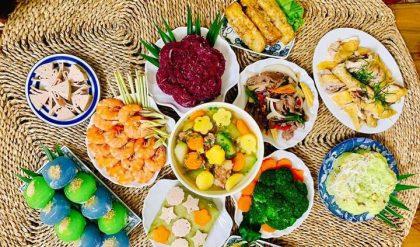 Rau củ luộc là món ăn giàu chất xơ và vitamin cho cơ thể khỏe mạnh