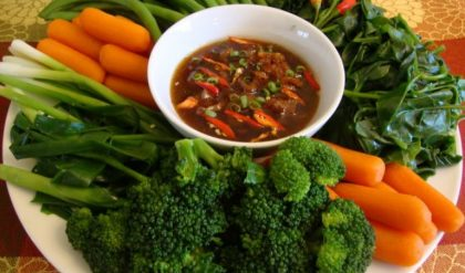 Sự đa dạng các loại rau củ giúp cả nhà ăn ngon miệng hơn
