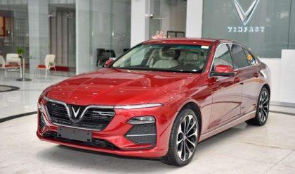 Bảng giá xe Vinfast Lux A2.0