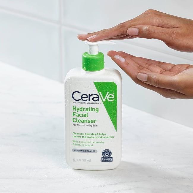 Cách rửa mặt CeaVe đúng cách giúp làn da khỏe đẹp