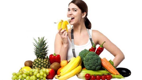 Chế độ ăn nhiều rau xanh trái cây giúp giảm cân hiệu quả