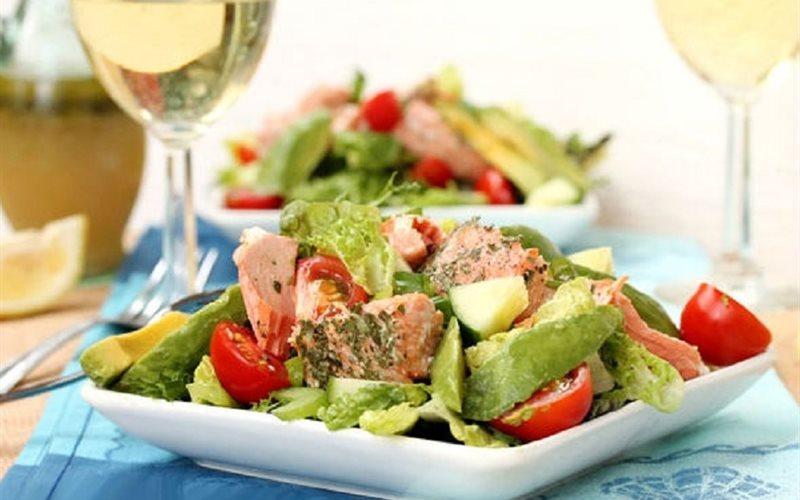 Một chế độ ăn lành mạnh không có chất béo thực vật