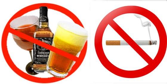 Nói không với rượu bia để bảo vệ sức khỏe