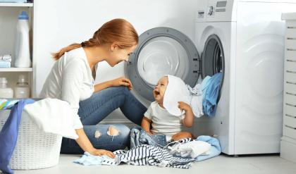 giặt đồ sơ sinh lần đầu