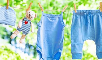 giặt quần áo sơ sinh trước bao lâu
