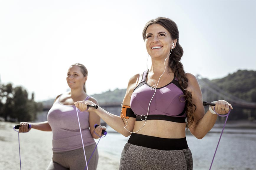 Lợi ích tuyệt vời khi thực hiện nhảy dây giảm cân