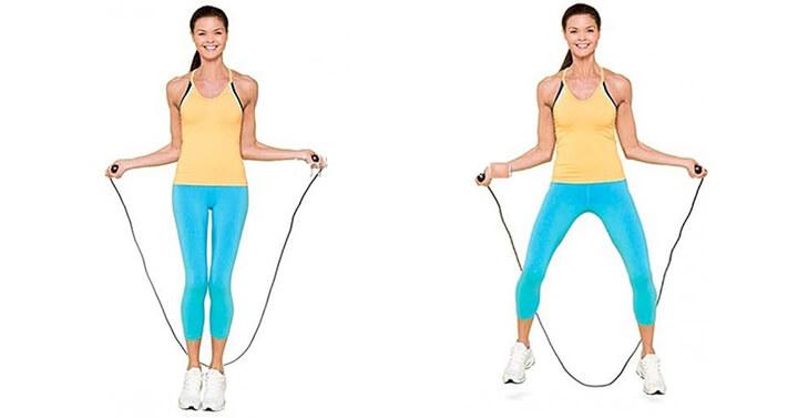 Nhảy dây đúng cách giúp người béo giảm cân nhanh chóng