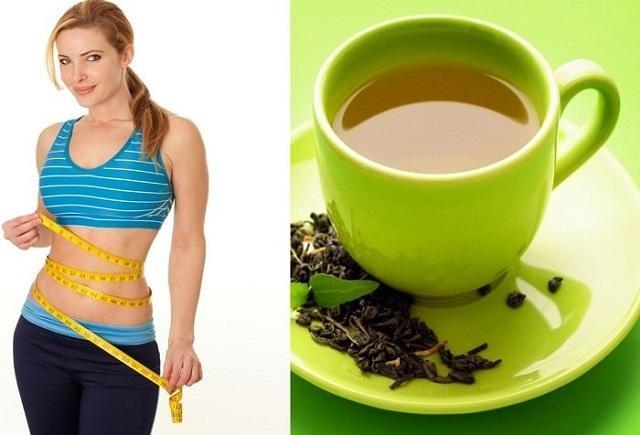 Chị em có vóc dáng thon gọn nhờ uống trà xanh hàng ngày