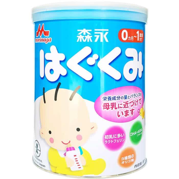 Dòng sữa dành cho trẻ sơ sinh có vị nhạt tự nhiên