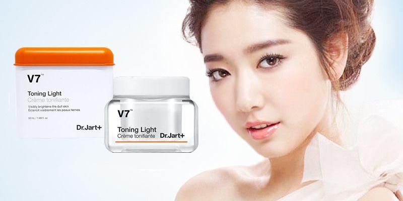 Trị thâm mụn V7 Toning Light Creme Tonifiante Dr.Jart+