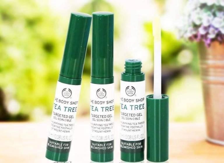 Kem trị thâm sau mụn The Body Shop Tea Tree chiết xuất trà xanh an toàn cho sức khỏe