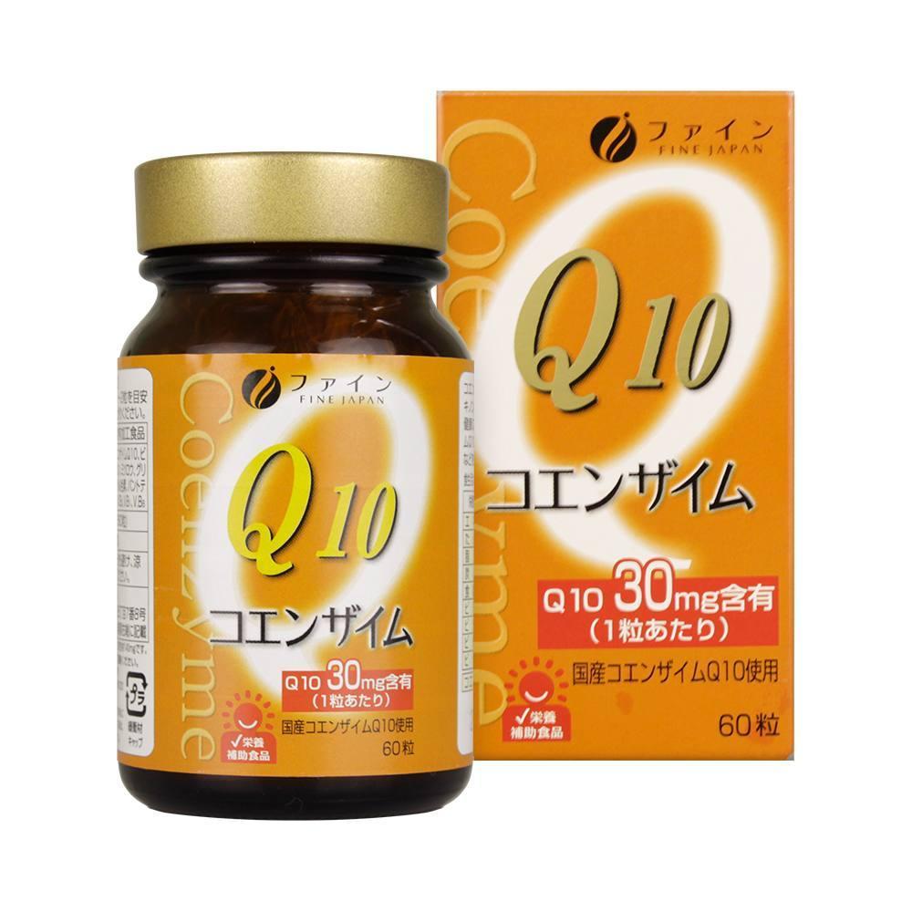 Viên uống Coenzyme Q10 của Fine mang lại thanh xuân cho làn da