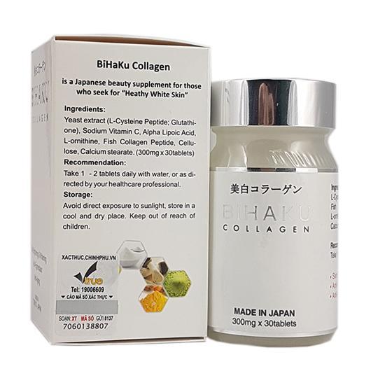 Chống lão hóa lão hóa da với Bihaku collagen